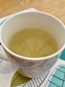 mug of linseed tea
