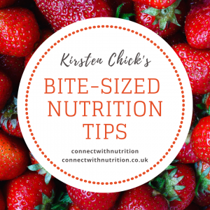 bite-sized nutrition tips