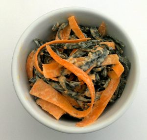 carrot and seaweed salad