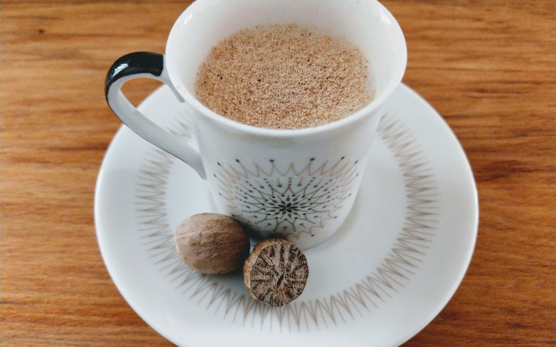 Nutmeg milk – nature's soother